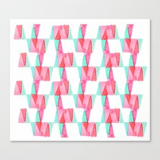 Cheery Triangles Canvas Print