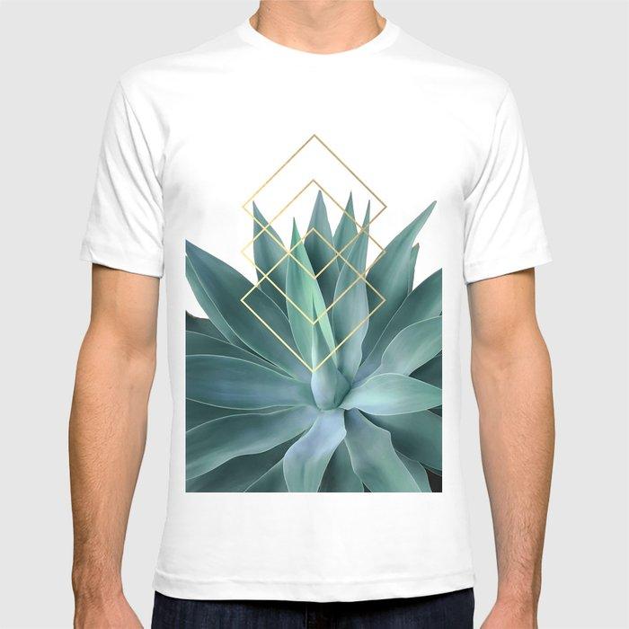 Agave geometrics T-shirt