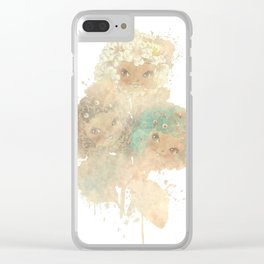 Twee Posy Clear iPhone Case