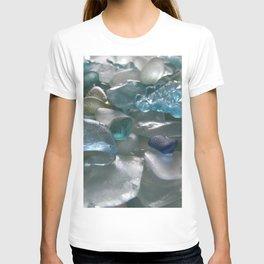 Ocean Hue Sea Glass Assortment T-shirt