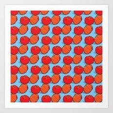 Brazil fruits - acerolas & pitangas Art Print