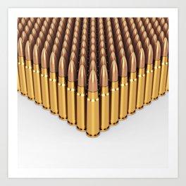 Ammunition Art Print