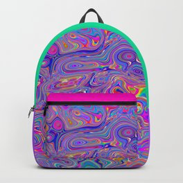 Neon melt Backpack