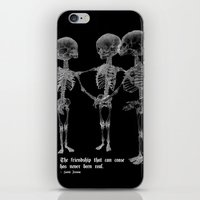 friendship iPhone & iPod Skins featuring Friendship by GLR67