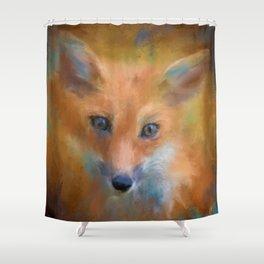 Feeling Foxy Shower Curtain