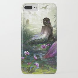 Little mermaid - Lonley siren watching kissing couple iPhone Case