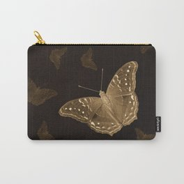 Butterflies in the dark Carry-All Pouch