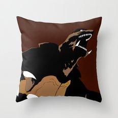 Gamera (2015 Concept Trailer) Throw Pillow