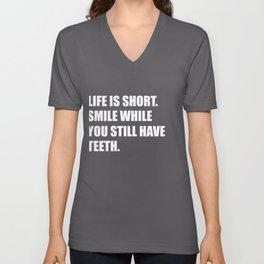 Cool cynic t-shirt for ironic misanthrope Unisex V-Neck