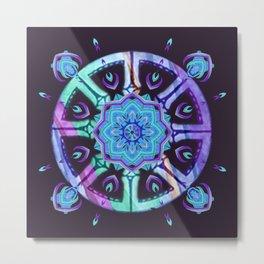 Purple Dharma Metal Print