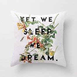 Midsummer's Night Throw Pillow