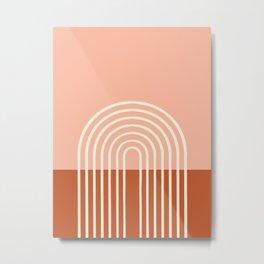 Terracota Pastel Metal Print