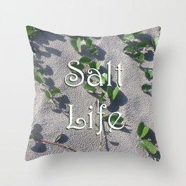 Salt Life Sand Throw Pillow