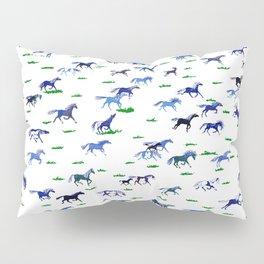 Blue Stampede Pillow Sham