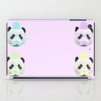 gentleman iPad Cases featuring Gentleman by Panda Cool