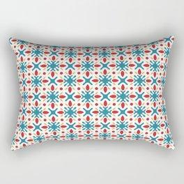Spanish Tile Pattern Rectangular Pillow