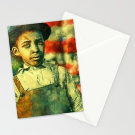 Face of Greatness Stationery Cards
