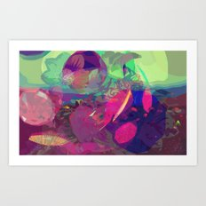 abstract 004. Art Print