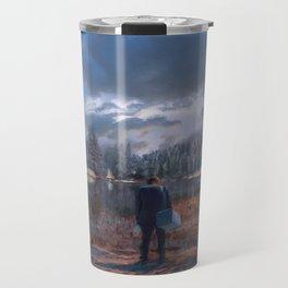 The coming of the dawn Travel Mug