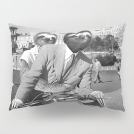 Sloth in Roman Holiday Pillow Sham