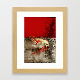 Buried on the Battlefield Framed Art Print