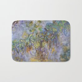 "Claude Monet ""Wisteria"", 1919-1920 Bath Mat"