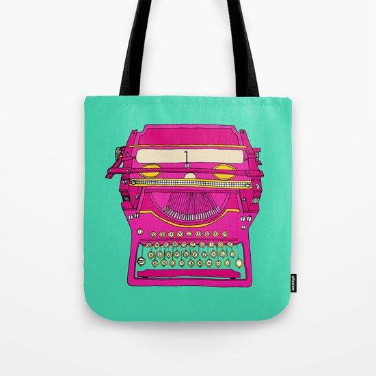 Typewriting // Retro Tote Bag