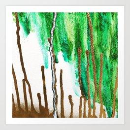 Drip Work Art Print