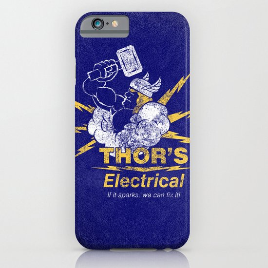 Thor - Thor's Electrical iPhone & iPod Case