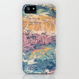 Gold In Movement iPhone Case