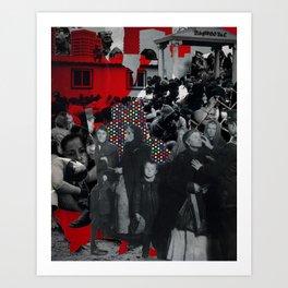 Im·mi·grants Art Print