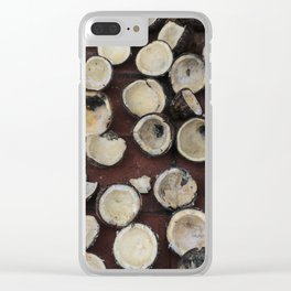 crazy coconuts Clear iPhone Case
