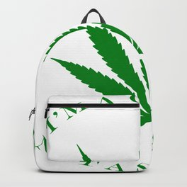 Marijuana Dispensary Legal Weed Backpack