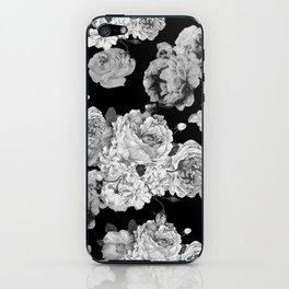 Grey Rose iPhone Skin