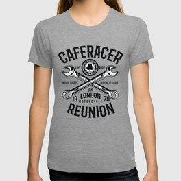 Motorcycle caferacer reunion 1979 London T-shirt
