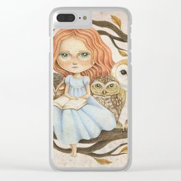 Autumn Tales Clear iPhone Case