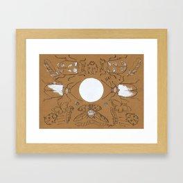 Bugging Out! Framed Art Print