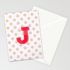 J is for Joy Stationery Cards