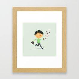 Boy in Love #3 Framed Art Print