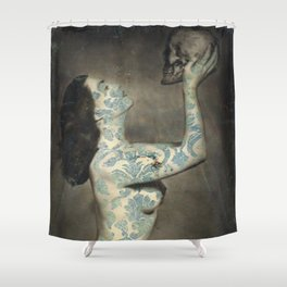 Kiss Me Deadly Shower Curtain