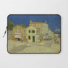 The Yellow House by Vincent van Gogh Laptop Sleeve