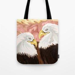 Freedom's Princess Bald Eagles Tote Bag