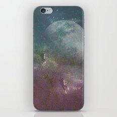 Sea,Moon iPhone & iPod Skin