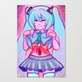 Miku Hatsune Canvas Print