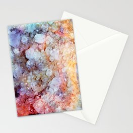 Painted Crystal Stationery Cards