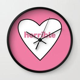 Horrible Wall Clock