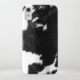 Modern Cowhide iPhone Case