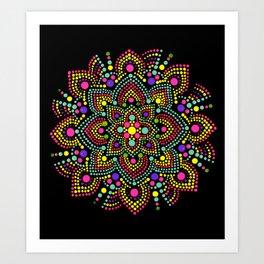 Pastel Pinwheel Art Print