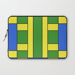 They were all yellow... blue and green Laptop Sleeve
