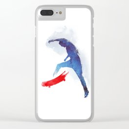 no-comply Clear iPhone Case